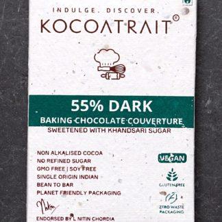 Kocoatrait 55% Dark Chocolate Couverture