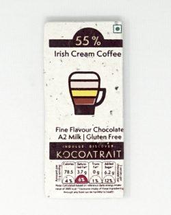 Kocoatrait Irish Cream Bean to Bar Chocolate