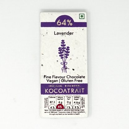 Kocoatrait Lavender Bean to Bar Chocolate