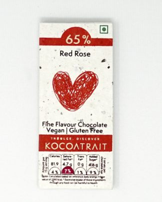 Kocoatrait Red Rose Bean to Bar Chocolate