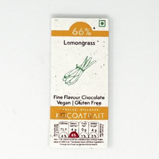 Kocoatrait Lemongrass Bean to Bar Chocolate