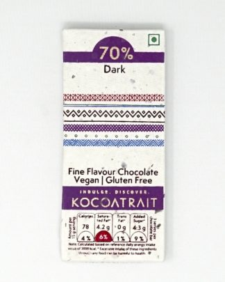 Kocoatrait 70% Dark Bean to Bar Chocolate