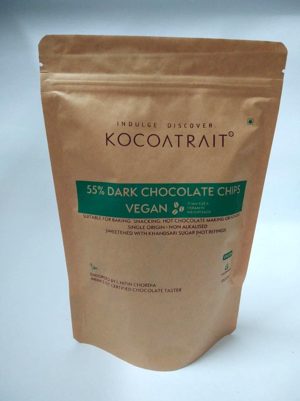 Vegan 55% Dark Chocolate Chips