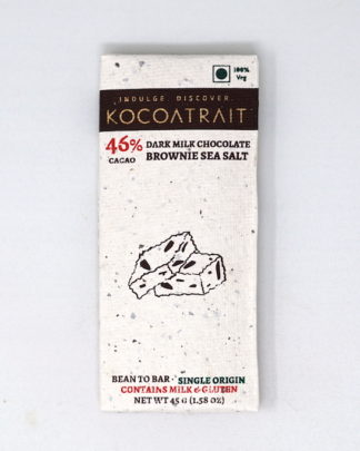 Kocoatrait 46% Dark Milk Sea Salt