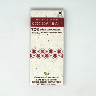 Kocoatrait 70% Cranberry & Pink Salt