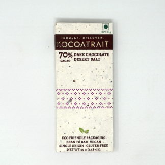 Kocoatrait 70% Dark Chocolate Desert Salt
