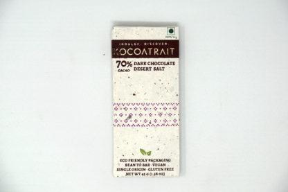 Kocoatrait 70% Dark Chocolate Desert Salt