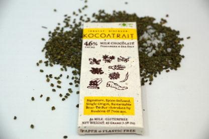 Kocoatrait Fenugreek Sea Salt Chocolate