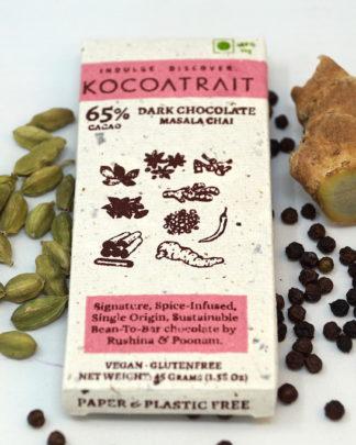 Kocoatrait Masala Chai Chocolate