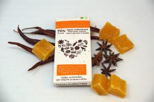 Kocoatrait Star Anise Mango Guntur Chilli Sea Salt Chocolate