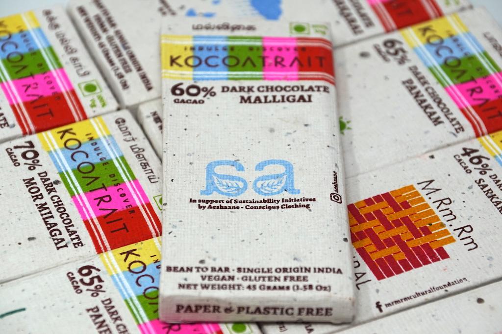 Kocoatrait 60% Malligai Dark Chocolate