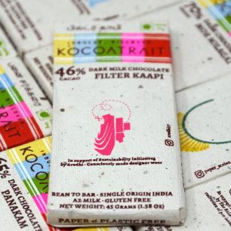 Kocoatrait 46% Filter Coffee Dark Milk Chocolate