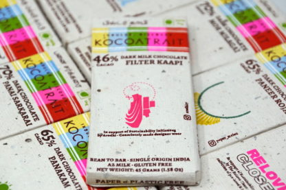 Kocoatrait 46% Filter Coffee Dark Milk Chocolate