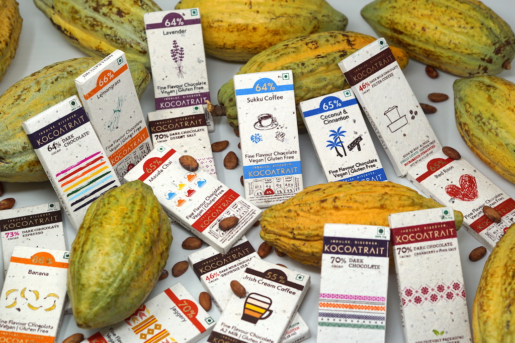 Bean to Bar chocolates made in india