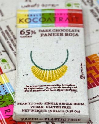 Kocoatrait 65% Paneer Roja Dark Chocolate