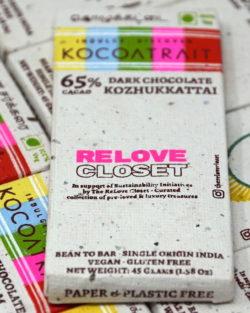 Kocoatrait 65% Kozhukkattai Dark Chocolate
