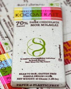 Kocoatrait 70% Mor Milagai Dark Chocolate