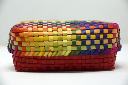 Kocoatrait Multi Colour Palm Leaf Box
